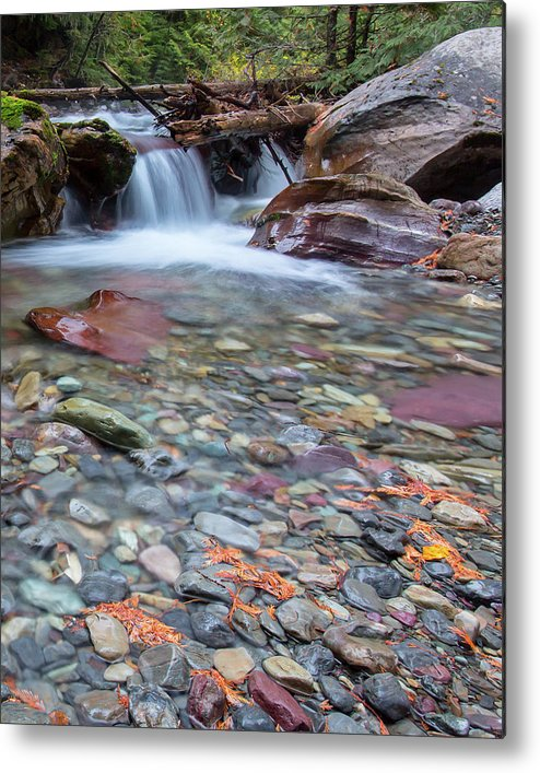 Waterfall Metal Print featuring the photograph I Am Haunted By Water by Jack Bell