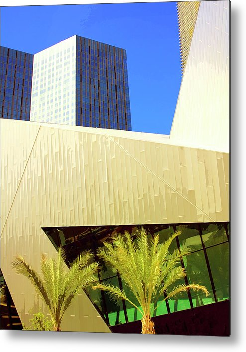 Vegas Metal Print featuring the photograph Intersection 2 by William Dey