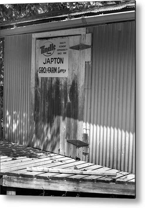 Metal Print featuring the photograph Japton2 by Curtis J Neeley Jr