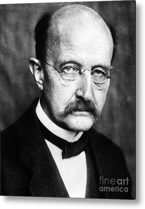 1929 Metal Print featuring the photograph Max Planck by Granger