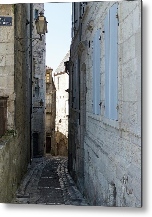 Alleyway Metal Print featuring the photograph Medieval Way by Mary Walker