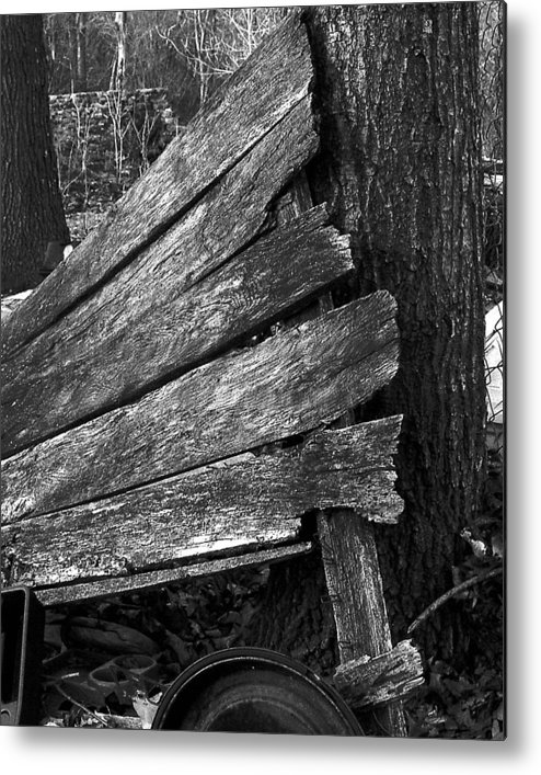 Ansel Adams Metal Print featuring the photograph Nextdoorolddoor by Curtis J Neeley Jr