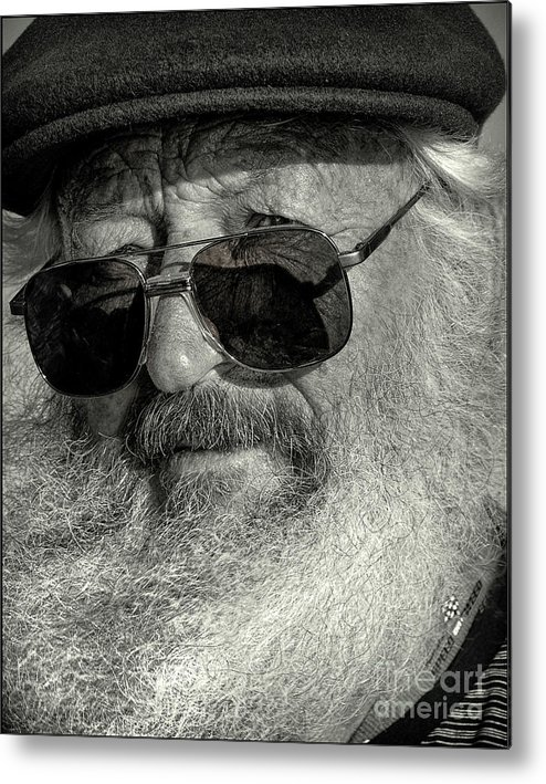 Sea Metal Print featuring the photograph Old Man And The Sea by James Dierker