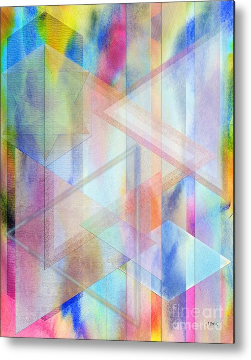 Pastoral Moment Metal Print featuring the digital art Pastoral Moment by John Beck