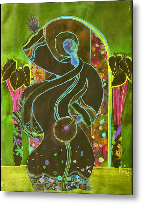 Praise Dancer Metal Print featuring the painting Praise by Joyce Miles