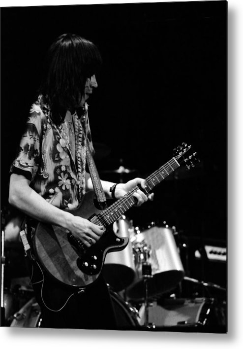 Pat Travers Metal Print featuring the photograph Pt78#26 by Ben Upham