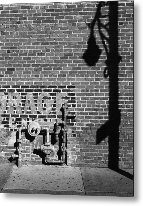 Urban Metal Print featuring the photograph Rage And Shadow by Jim Furrer