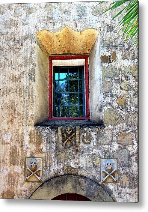 Santa Barbara Metal Print featuring the photograph Rear Window by William Dey