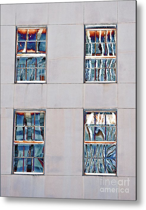 New Orleans Metal Print featuring the photograph Reflecting Artwork by Frances Hattier