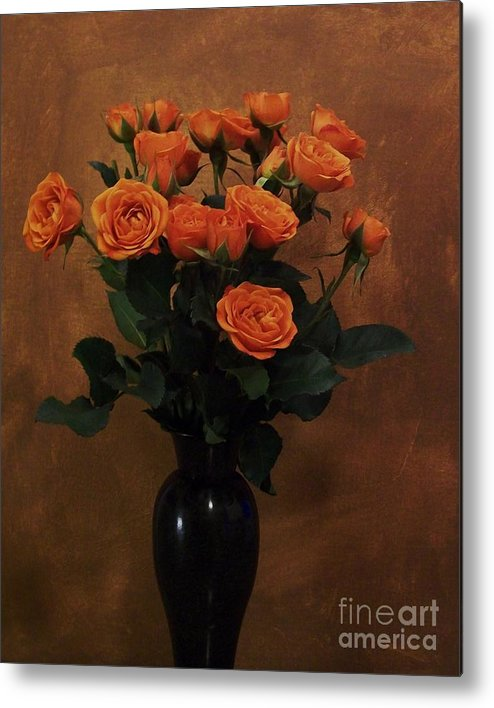 Roses Metal Print featuring the photograph Roses For My Sweetheart by Marsha Heiken