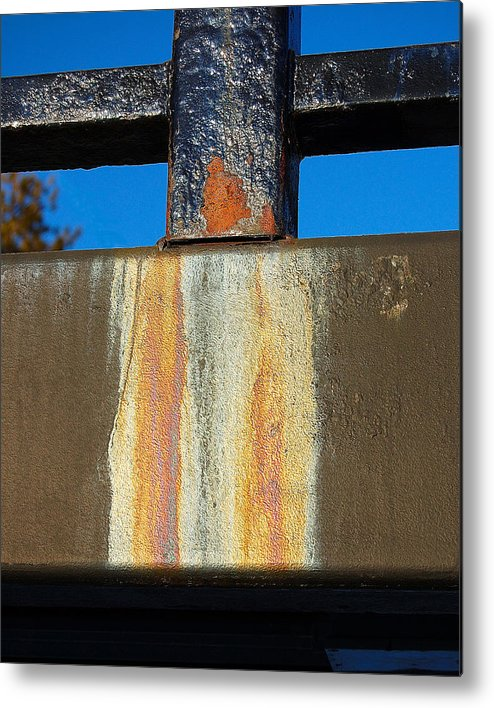 Bridge Metal Print featuring the photograph Rust by Heather S Huston