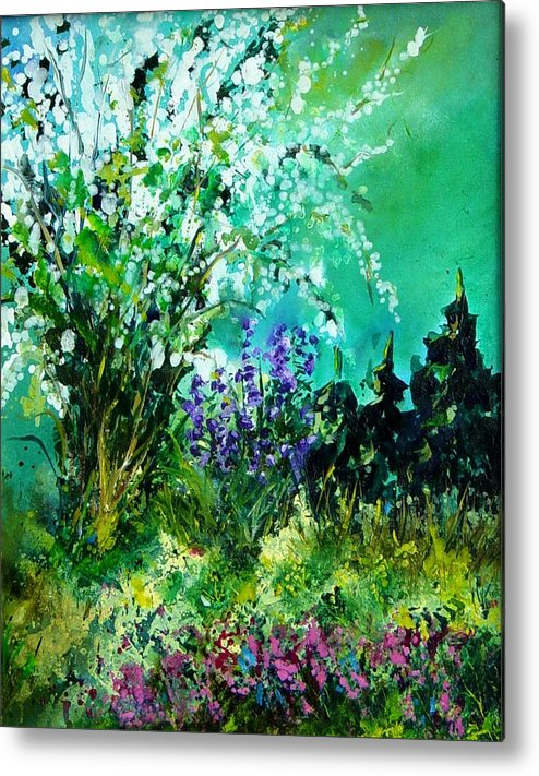 Tree Metal Print featuring the painting Seringa by Pol Ledent