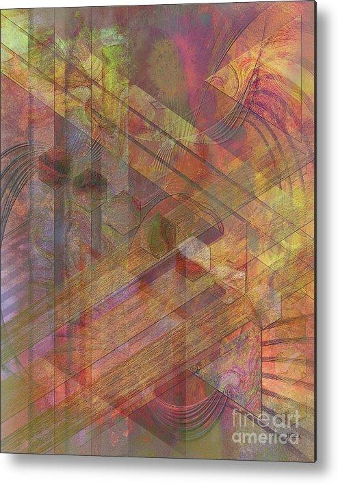 Soft Fantasia Metal Print featuring the digital art Soft Fantasia by John Beck