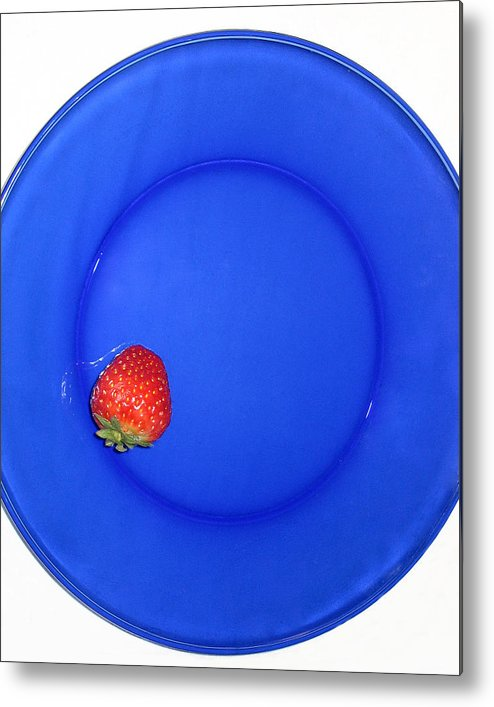 Strawberry Metal Print featuring the photograph Strawberry by Jessica Wakefield