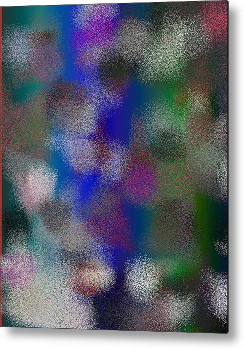 Abstract Metal Print featuring the digital art T.1.1004.63.4x5.4096x5120 by Gareth Lewis