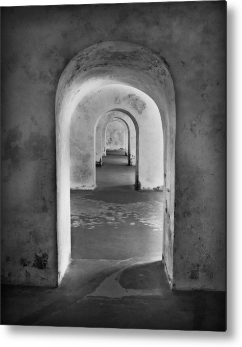 Arch Metal Print featuring the photograph The Arches 2 by Perry Webster