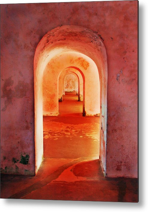Arch Metal Print featuring the photograph The Arches by Perry Webster