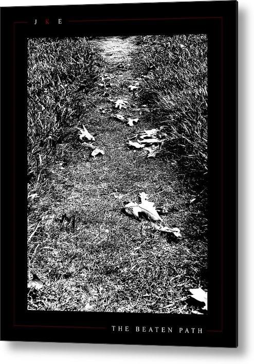 Ksu Metal Print featuring the photograph The Beaten Path by Jonathan Ellis Keys