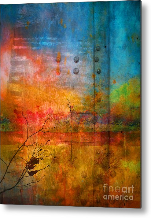 Colour Metal Print featuring the photograph The Places I Have Never Been by Tara Turner