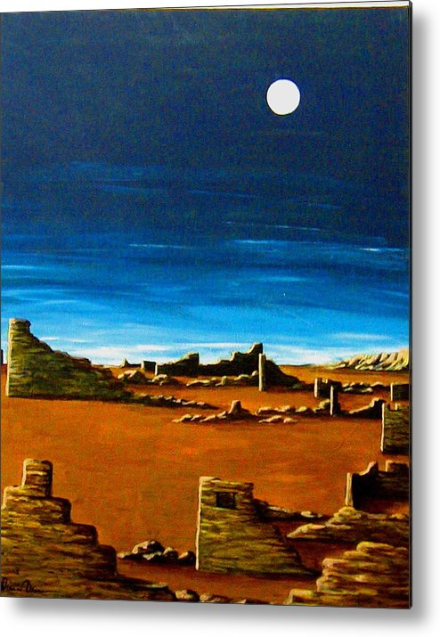 Anasazi Metal Print featuring the painting Timeless by Diana Dearen