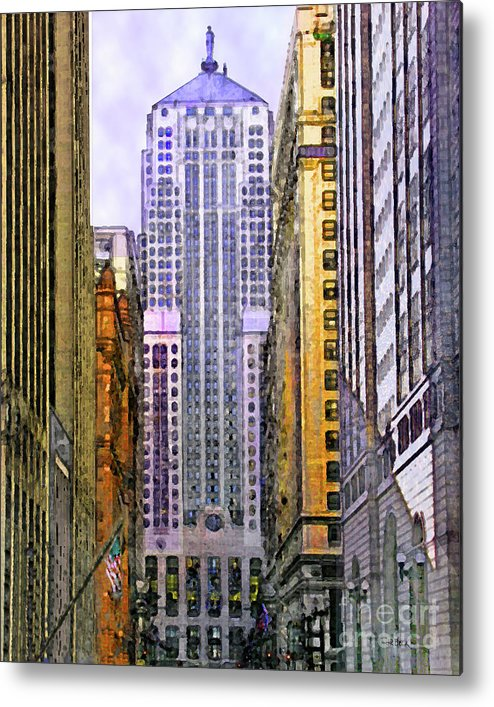 Trading Places Metal Print featuring the digital art Trading Places by John Beck