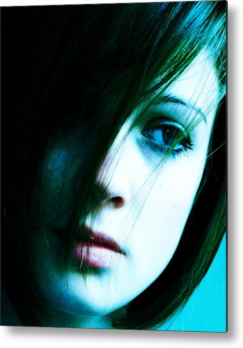 Fashion Metal Print featuring the photograph XP by Jim DeLillo