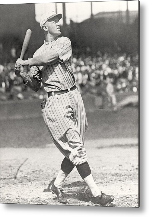 1910-1919 Metal Print featuring the photograph Mlb Photos Archive by Mlb Photos