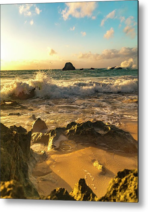 Sunrise Metal Print featuring the photograph Uplifting Coastal Morning by Betsy Knapp