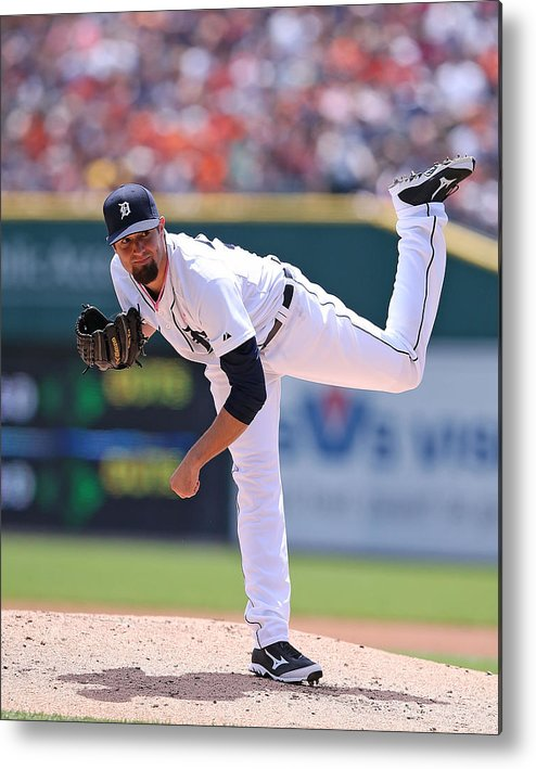 American League Baseball Metal Print featuring the photograph Robbie Ray by Leon Halip
