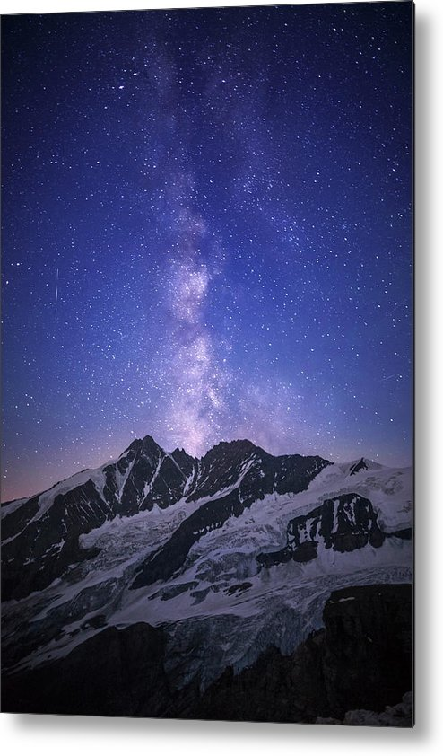 Scenics Metal Print featuring the photograph Full Of Stars by Lightpix
