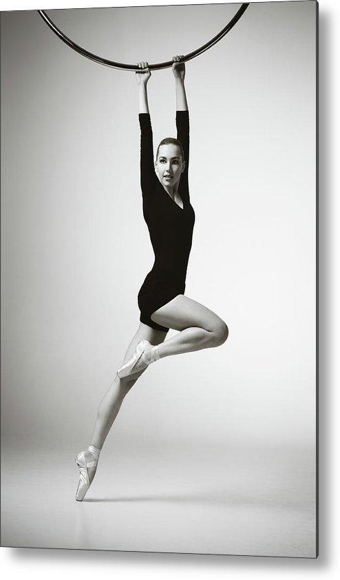 Ballet Dancer Metal Print featuring the photograph Modern Dancer by Lambada