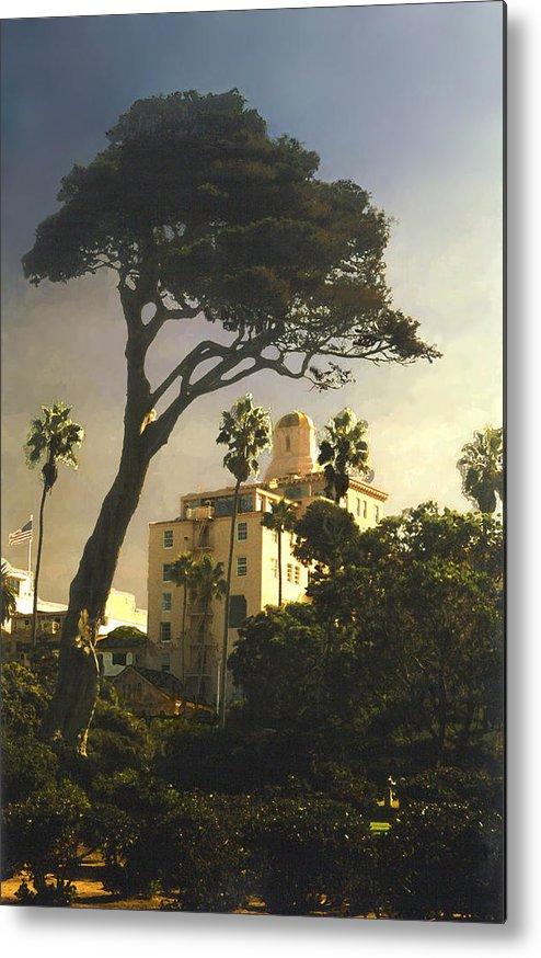 Landscape Metal Print featuring the photograph Hotel California- La Jolla by Steve Karol
