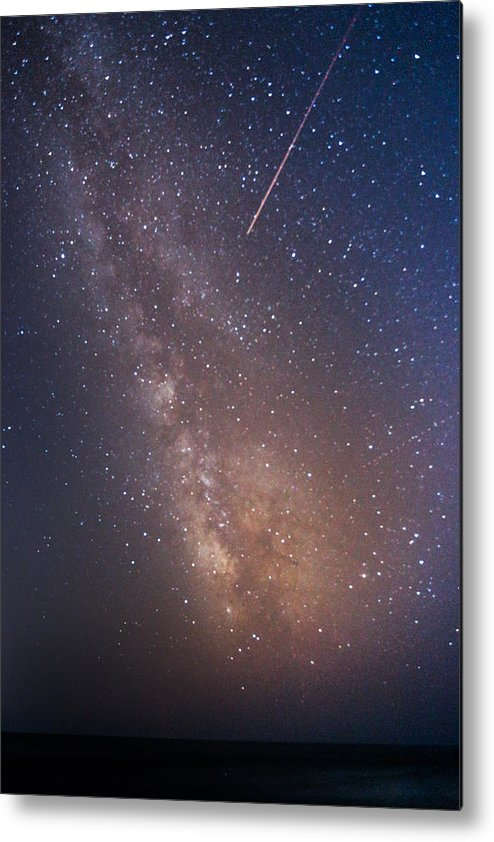 Majestic Metal Print featuring the photograph Milky Way by Luca Libralato Photography
