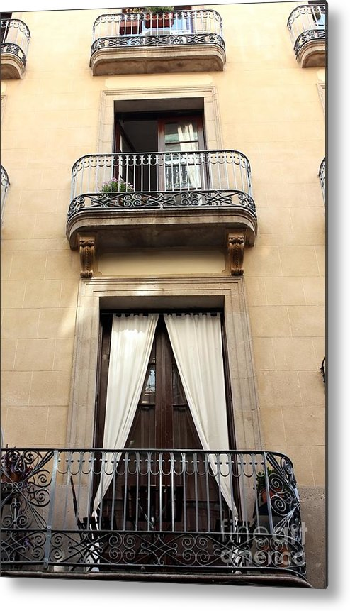 Barcelona Metal Print featuring the photograph My Apartment by Sophie Vigneault