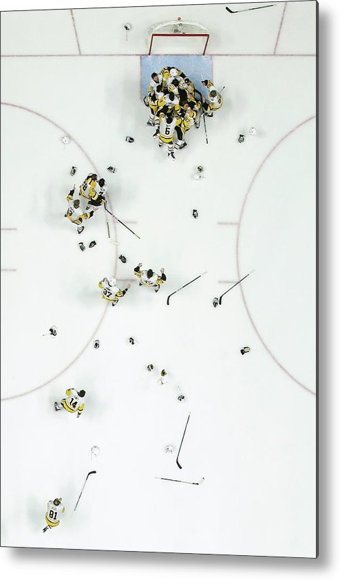 Playoffs Metal Print featuring the photograph Nhl Jun 11 Stanley Cup Finals Game 6 - by Icon Sportswire