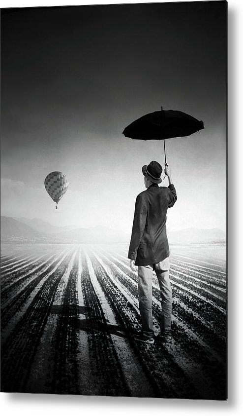 Shadow Metal Print featuring the photograph Where Oblivion Dwells by Saul Landell / Mex
