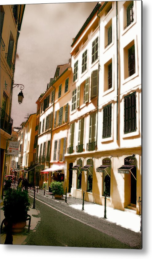 France Metal Print featuring the photograph Aix en Provence by Jim Painter