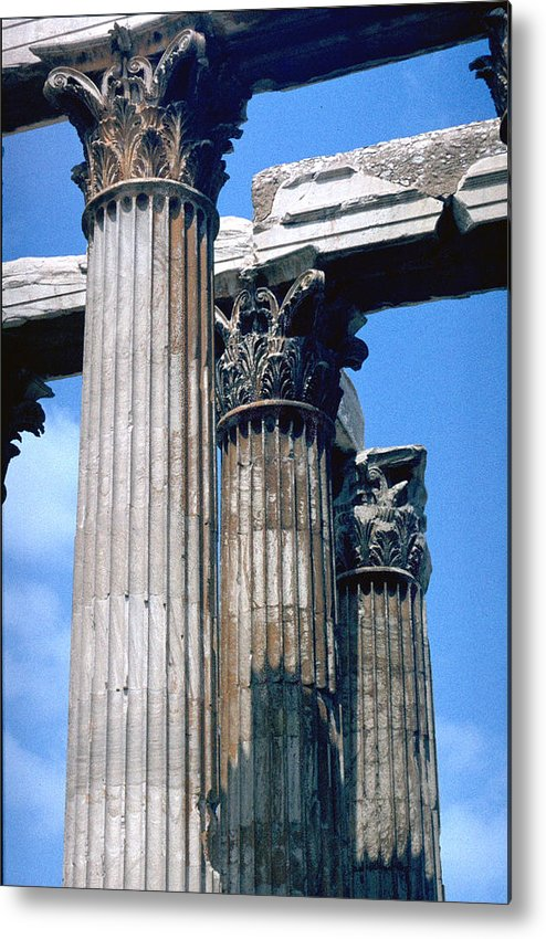 Acropolis Metal Print featuring the photograph Acropolis by Flavia Westerwelle