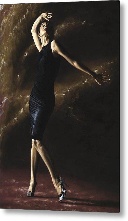 Dance Metal Print featuring the painting After the Dance by Richard Young