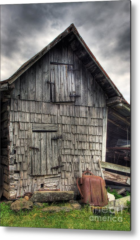 Landscape Metal Print featuring the photograph Closed For Business by Pete Hellmann