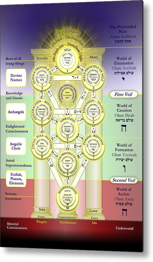 Tree Of Life Kabbalah Elements – The ten sephira, similar to the norse tree of life, are divided into four realms