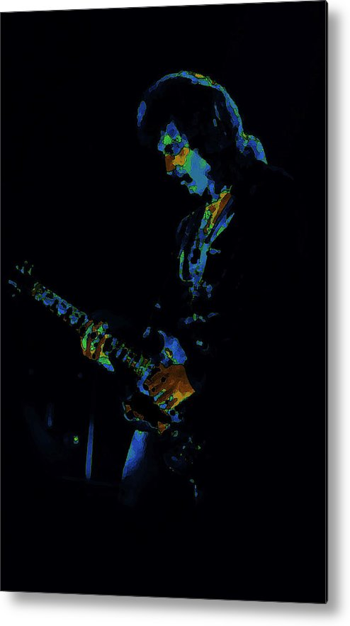 Black Sabbath Metal Print featuring the photograph Lord Of The Cosmic Blue World by Ben Upham