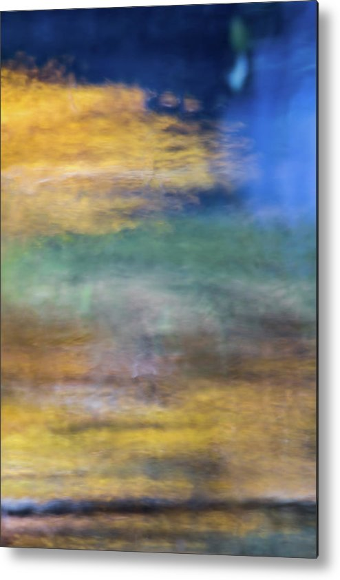 Yosemite Metal Print featuring the photograph Merced River Reflections 12 by Larry Marshall