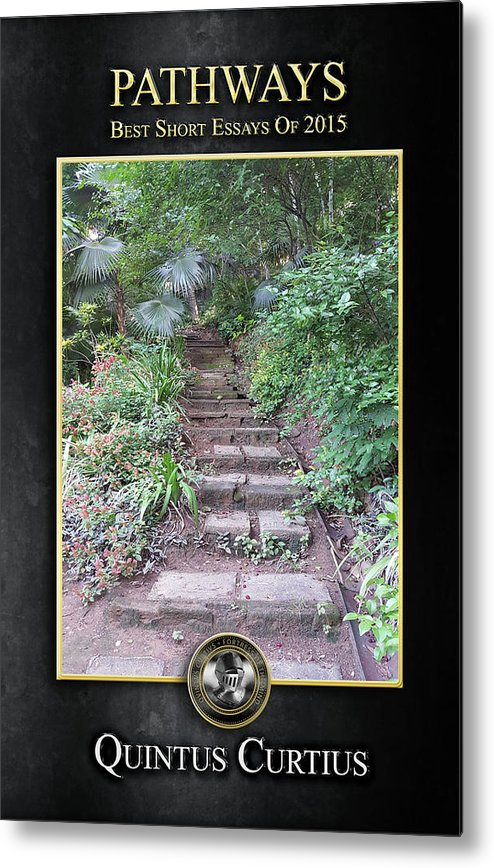 Pathways Metal Print featuring the digital art Pathways by Quintus Curtius