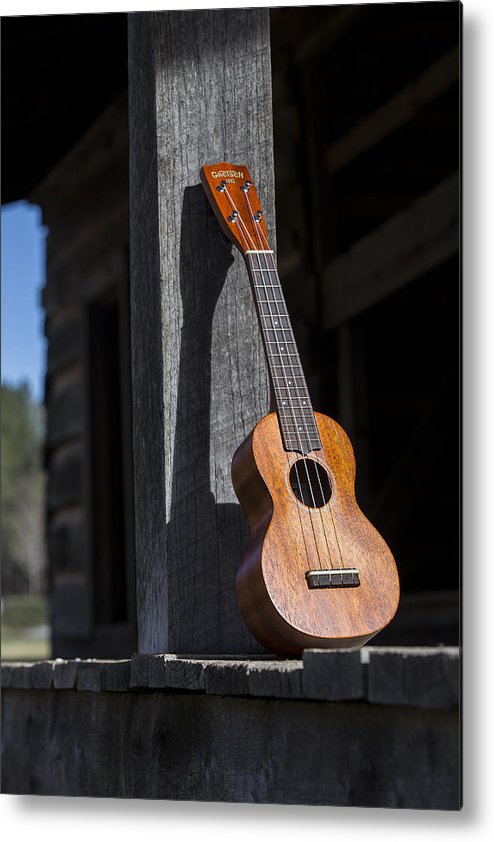 Ukulele Metal Print featuring the photograph Travel Light by Keith May