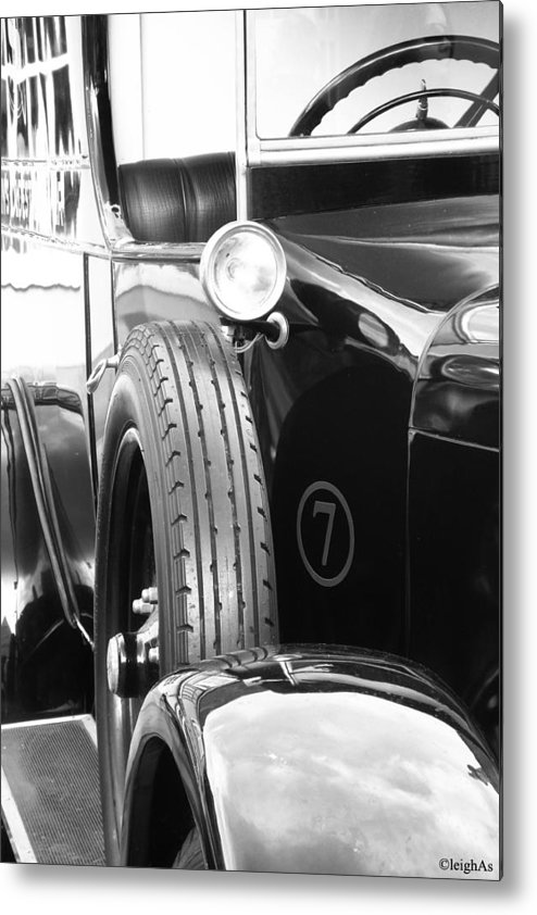 Classic Metal Print featuring the photograph Vintage Classic by Leigh Smith