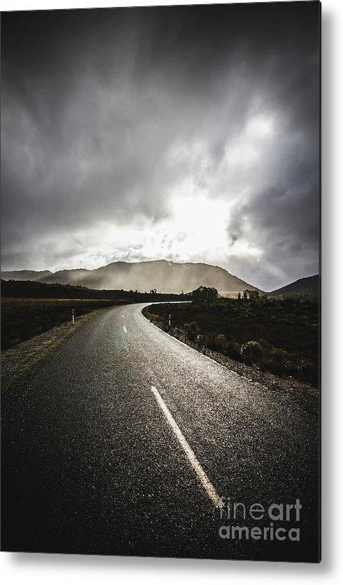 Travel Metal Print featuring the photograph Way To Strathgordon by Jorgo Photography - Wall Art Gallery
