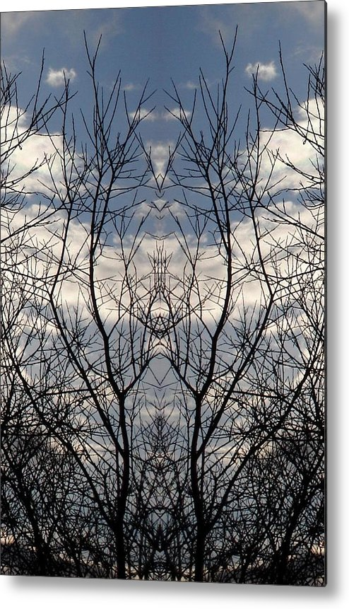 Nature Metal Print featuring the photograph Welcome by Marilynne Bull