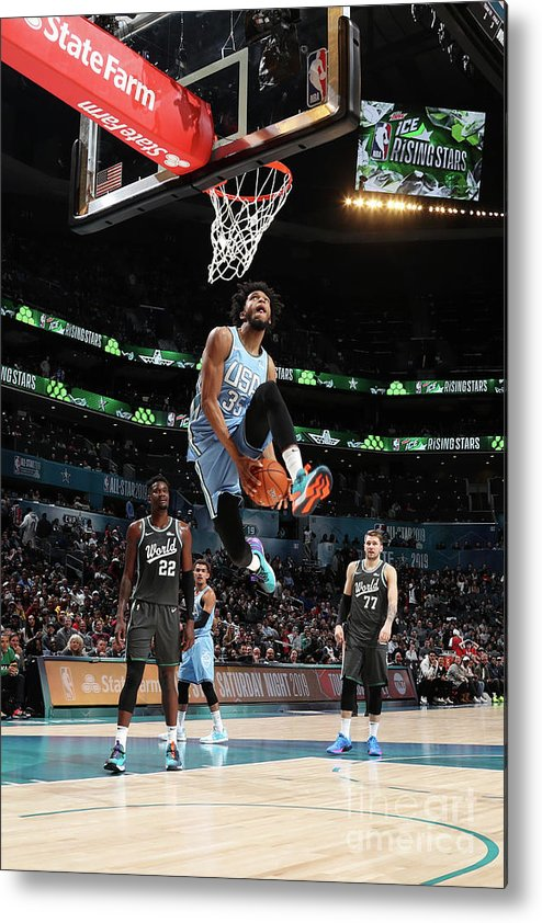 Nba Pro Basketball Metal Print featuring the photograph 2019 Mtn Dew Ice Rising Stars by Nathaniel S. Butler
