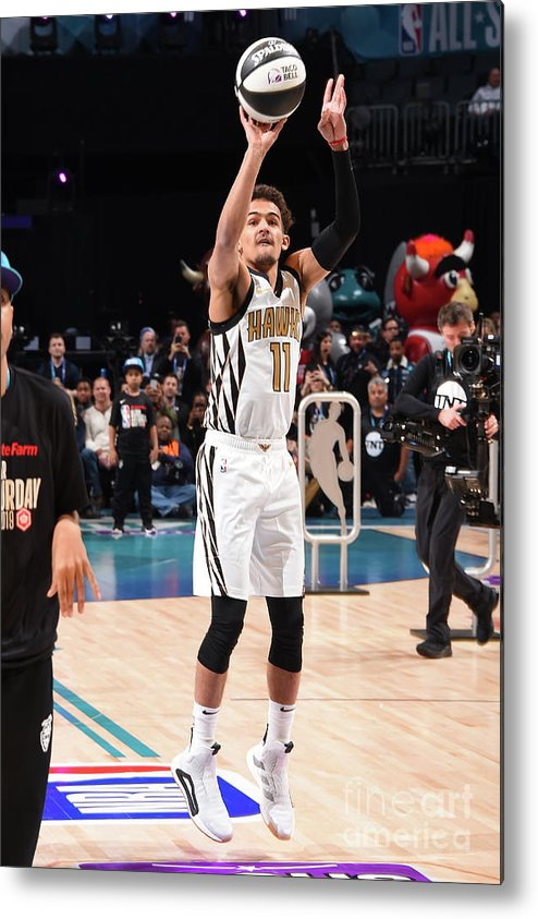 Nba Pro Basketball Metal Print featuring the photograph 2019 Taco Bell Skills Challenge by Andrew D. Bernstein